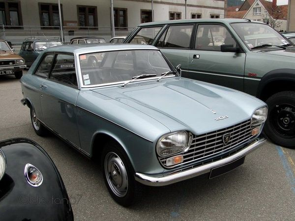 peugeot 204 coupe 1966 1970 1