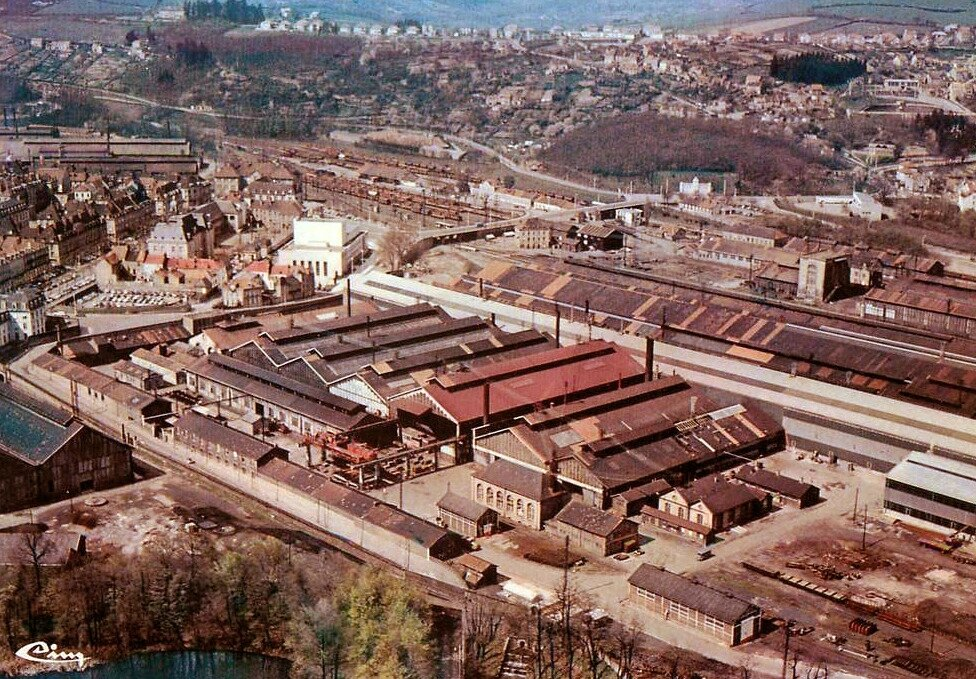 Le Creusot, les usines SFAC