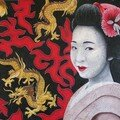 Geisha & dragons