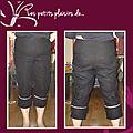 Pantalon en lin - diana couture