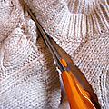 Récup tricot à l'atelier blueann création....
