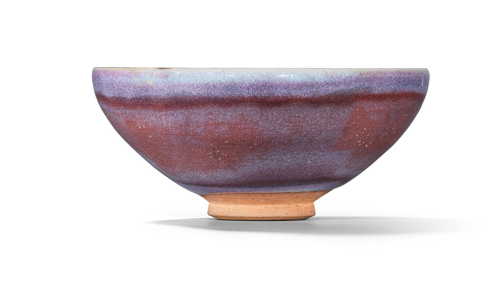 A purple-splashed Jun bowl, Yuan dynasty (1279-1368)