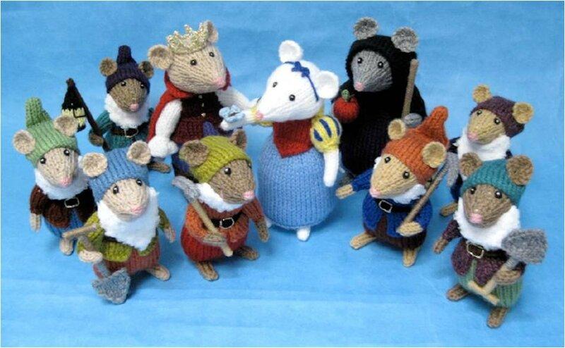 Traduction Snow White Pantomice - Souris blanche neige, le prince et les 7 nains - Alan Dart