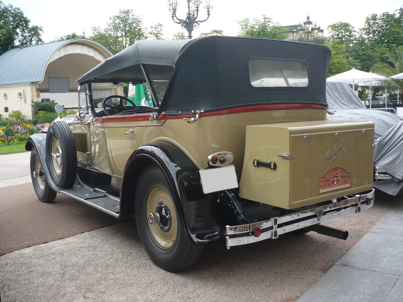 PACKARD Eight 343 Sport Touring 1927 Baden Baden (2)