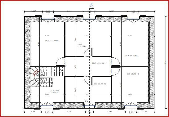 Les Plans La Renovation D Une Grange En Maison D Habitation