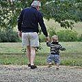Avec bon papa