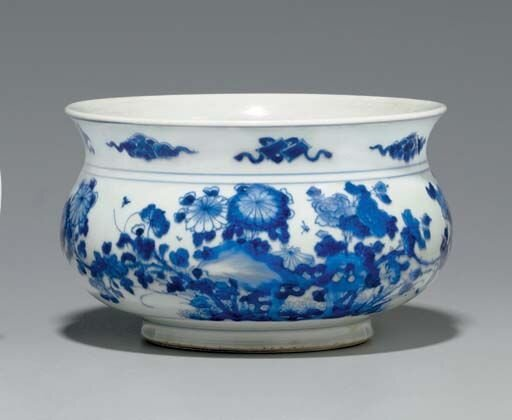 A_blue_and_white_censer__Kangxi_period__1662_1722_