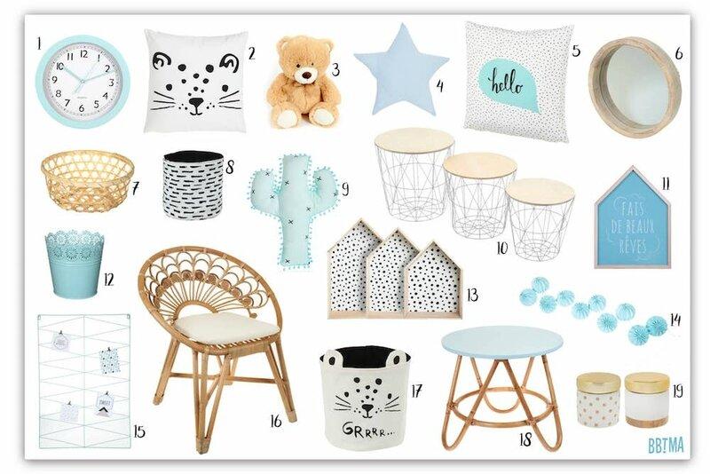 selection-deco-decoration-kids-enfant-bbtma-blog-scandinave-scandinavian-bleu-bois-blanc-homedecor-decokids-kidsroom-tati-tendance-rotin-fauteuil-chaise-cactus-panier-table-miroir-guirlande-coussin-maison-etagere-ours-tigre-graphique