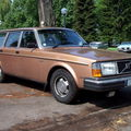 Volvo 245 gl break, retrorencard