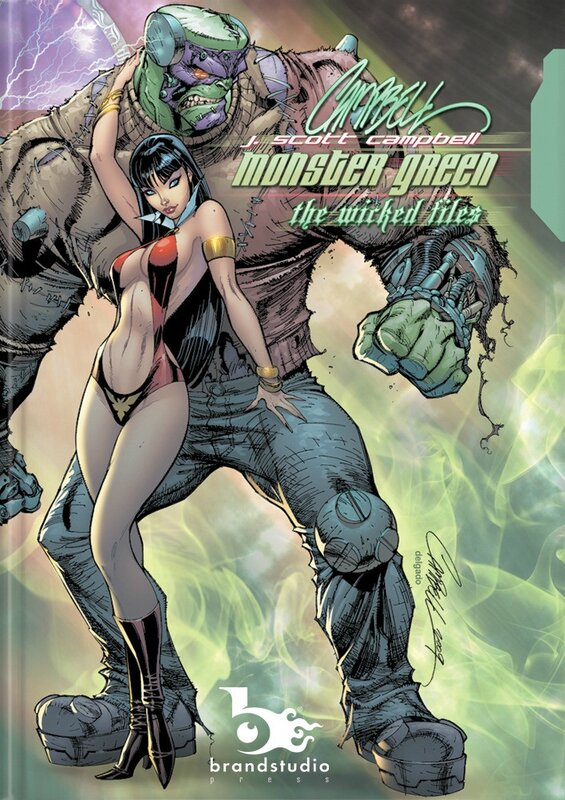 j scott campbell monster green