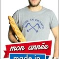 Mon année made in france - benjamin carle - editions plon