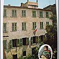 Ajaccio - maison Napoléon - datée 1972