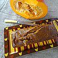 Cake au potimarron et polenta