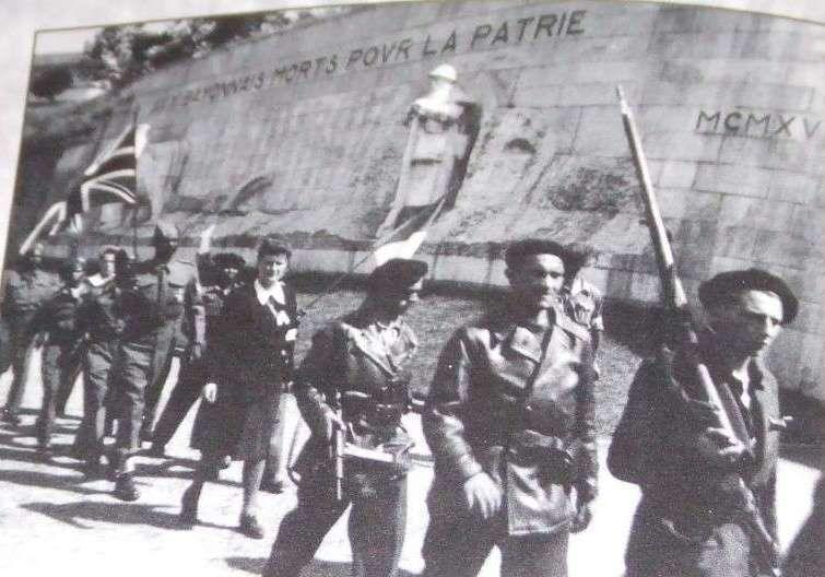 Bayonne août 44