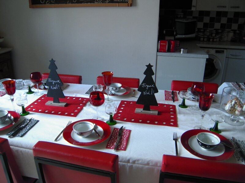 table Noël 2010