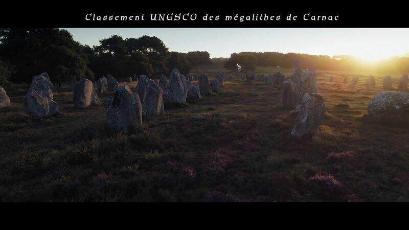 Classement UNESCO des mégalithes de Carnac