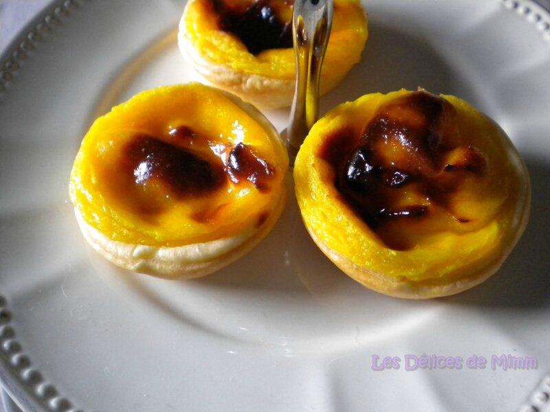 Pastéis de nata (petits flans portugais) 2