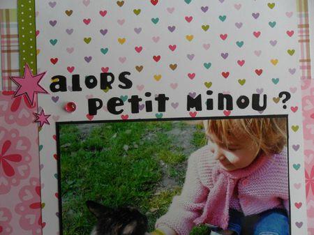 Détail page Alors petit minou - 1