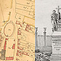 Une trace du monument de cathelineau sur le cadastre