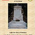 Exposition indre 1914/1918, oulches 11 et 12 novembre 2017
