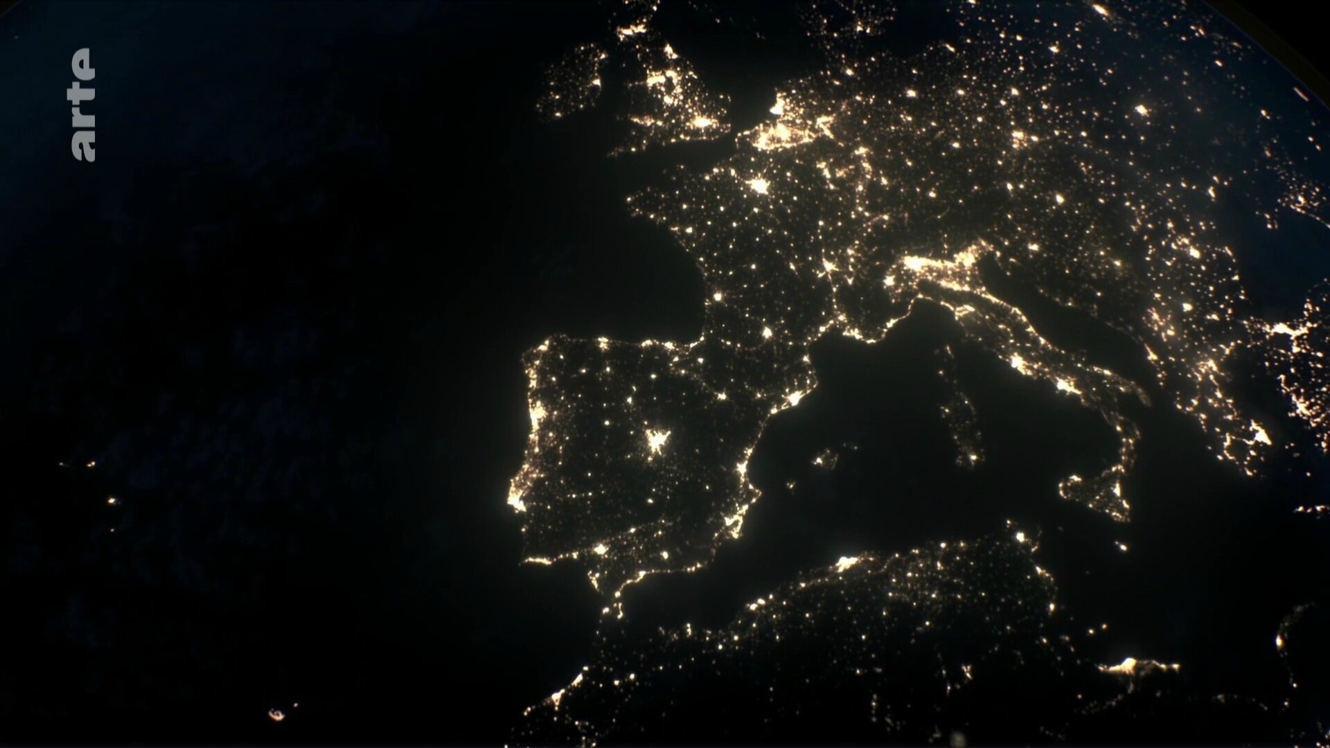 pollution lumineuse europe