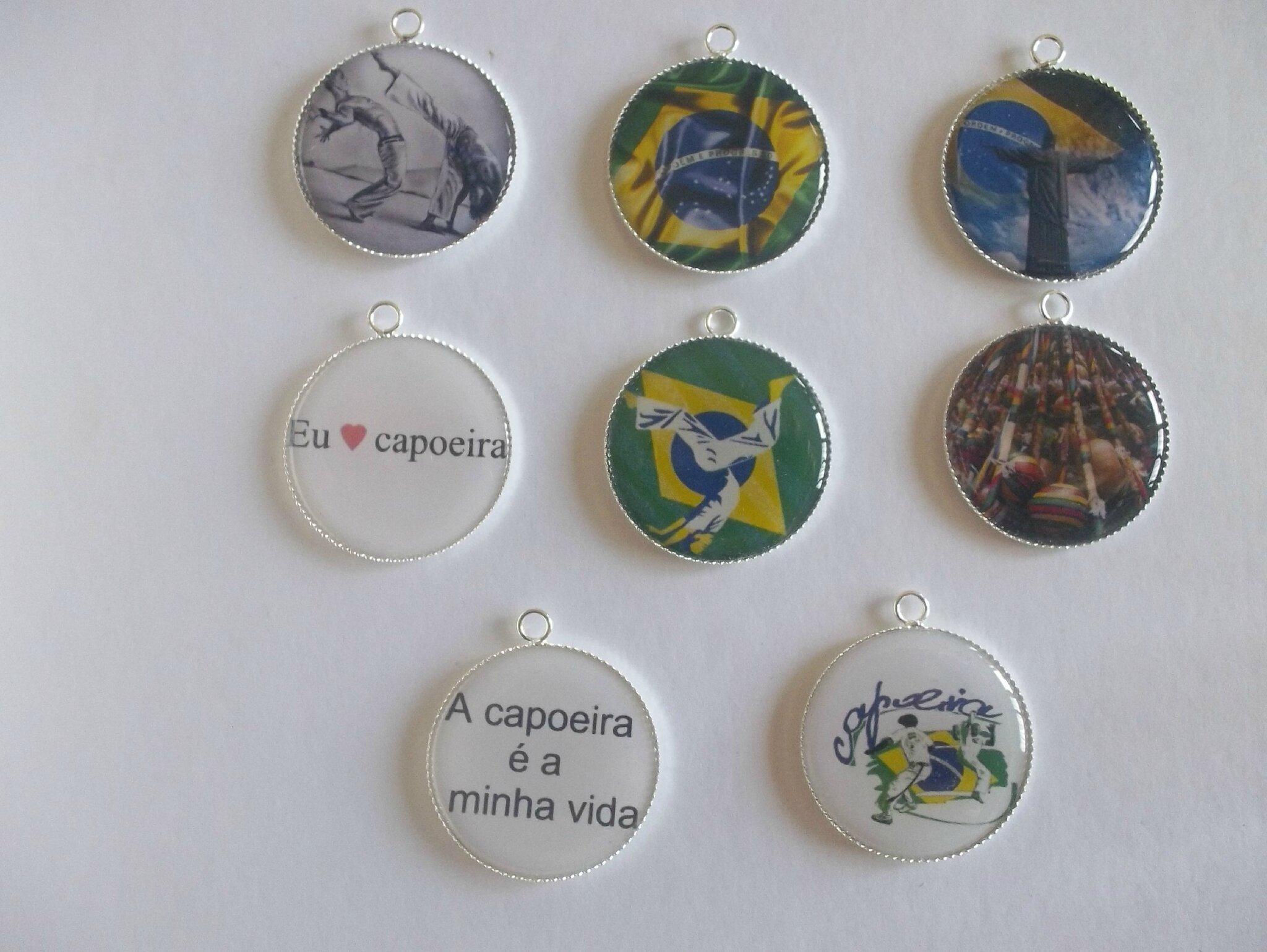 Collier + pendentif Capoeira....