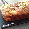 Cake aux poireaux & ricotta