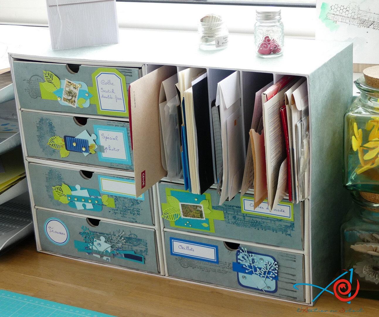Organiseur 6 tiroirs - Mini-chest of drawers