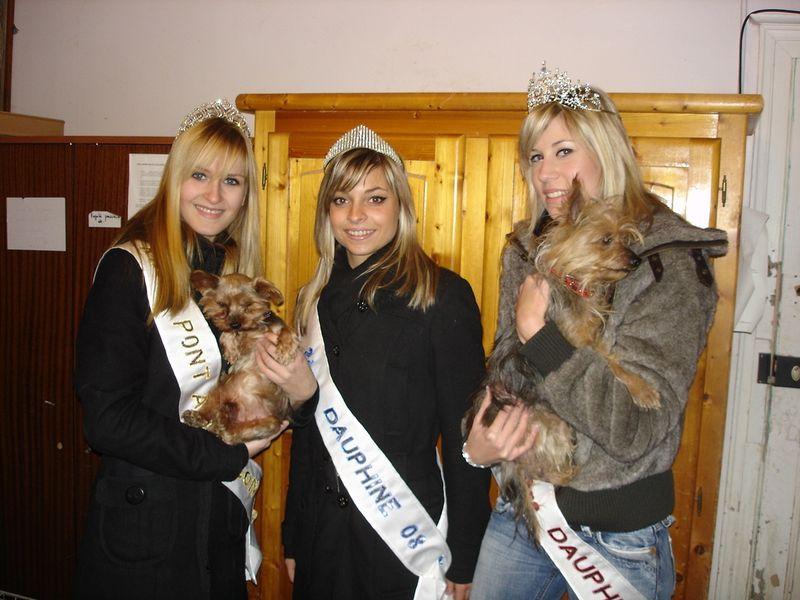 Les Miss Apportent De La Nourriture A La Spa D Arry Election
