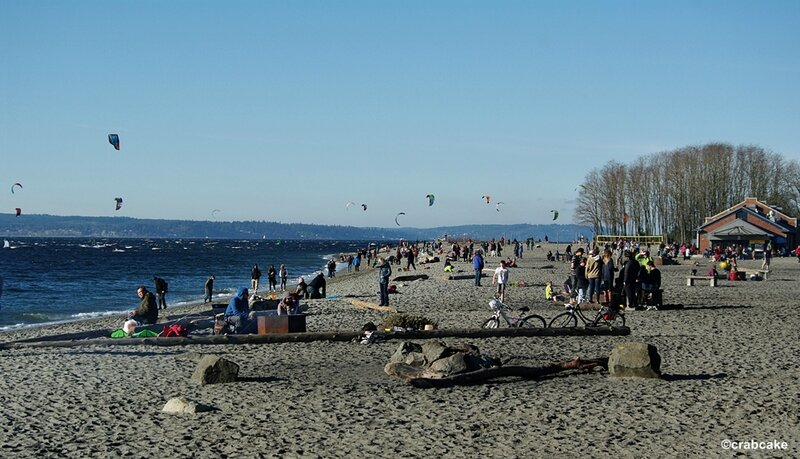 Golden Gardens Beach