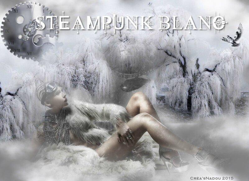 33 steampunk blanc