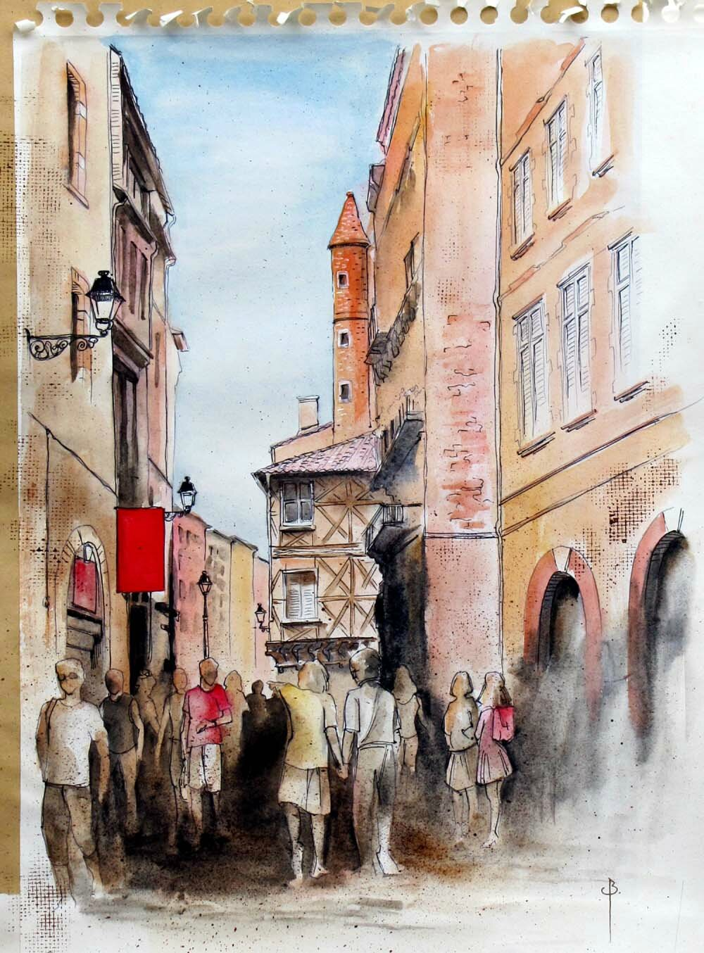Toulouse : rue St Rome