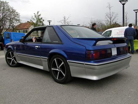 FORD mustang gt fox aero III 1987 1993 Bourse Echanges Autos Motos de Chatenois 2010 3