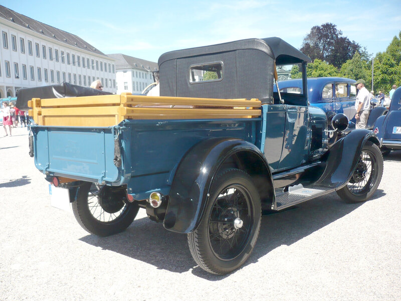 FORD Model A roadster pick-up 1929 Karlsruhe (2)