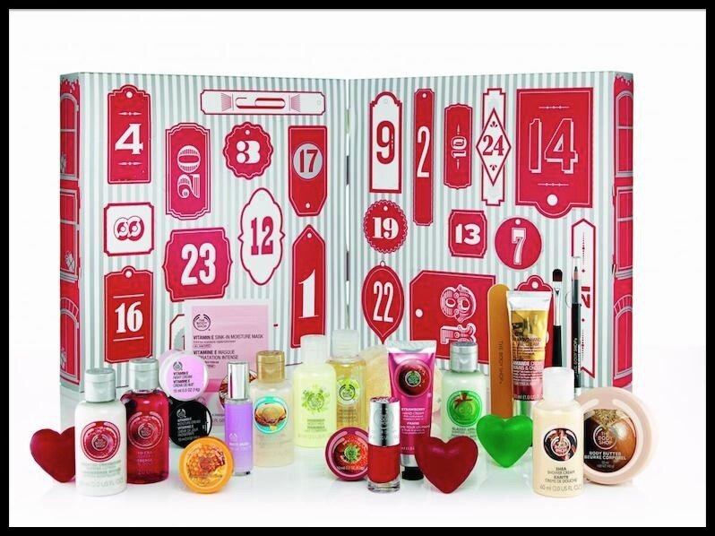 the body shop calendrier avent 2