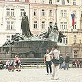 Pragues, place de la Vieille Ville (République Tchèque)