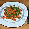 Salade de carottes à la marocaine #vegan