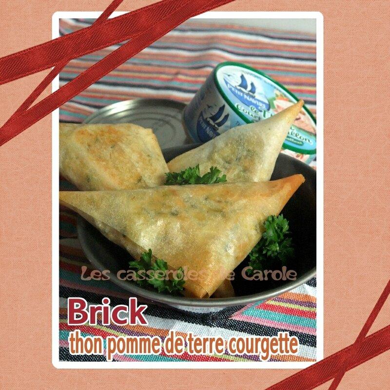 Brick au thon à ma façon (cuisson four) (SCRAP)