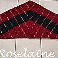 Roselaine Croissant shawl by Andrea Cretu 1
