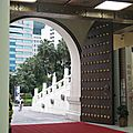 Une des portes du Mémorial Tchang Kai chek