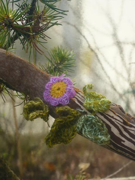 Nid et végétation