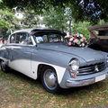 La wartburg 311 coupé de 1961 (33ème internationales oldtimer-meeting baden-baden)