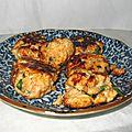 Boulettes de poulet aux cacahuètes