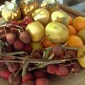 Mangue de greffe, Letchis et ananas vicoria