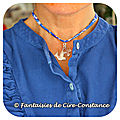 Collier colombe croix argent massif