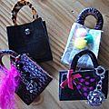 Mini sacs bijoux de sac