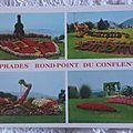 Prades - rond point du Conflent