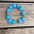 bracelet petites bulles par emi