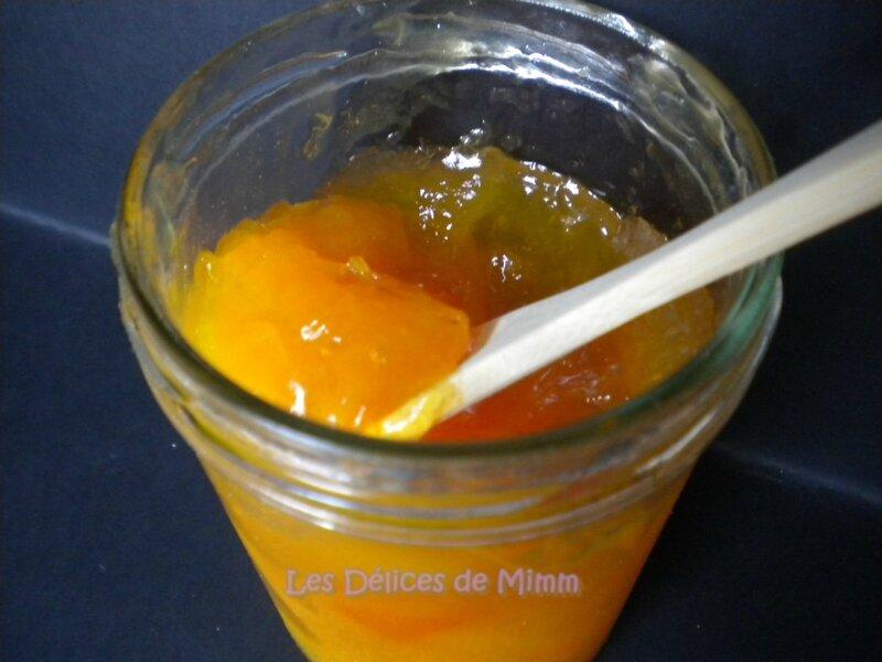 Confiture d'abricots très fruitée et allégée en sucre