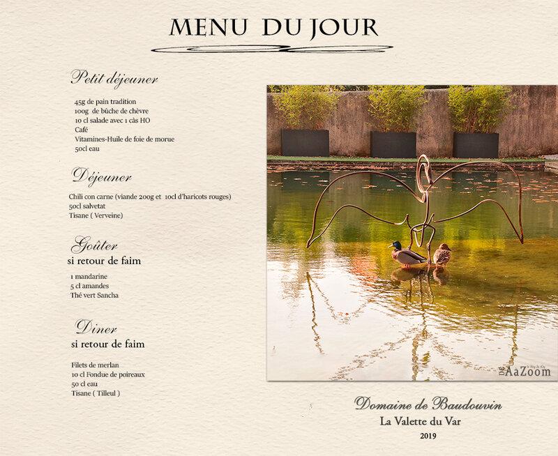 DeAaZoom- menu chrono
